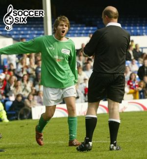 BRIAN McFADDEN Argues With Ref