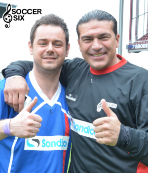 DANNY DYER & TAMER HASAN THUMBS UP