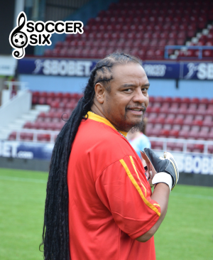 MAXI PRIEST GOES IN GOAL