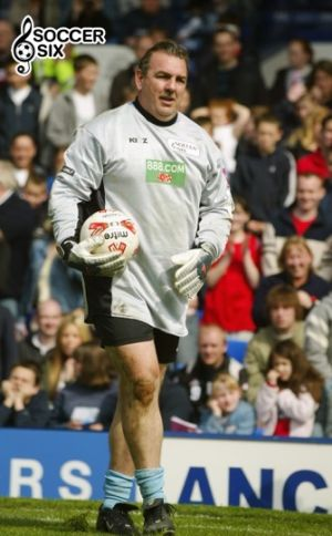 NEVILLE SOUTHALL With BALL